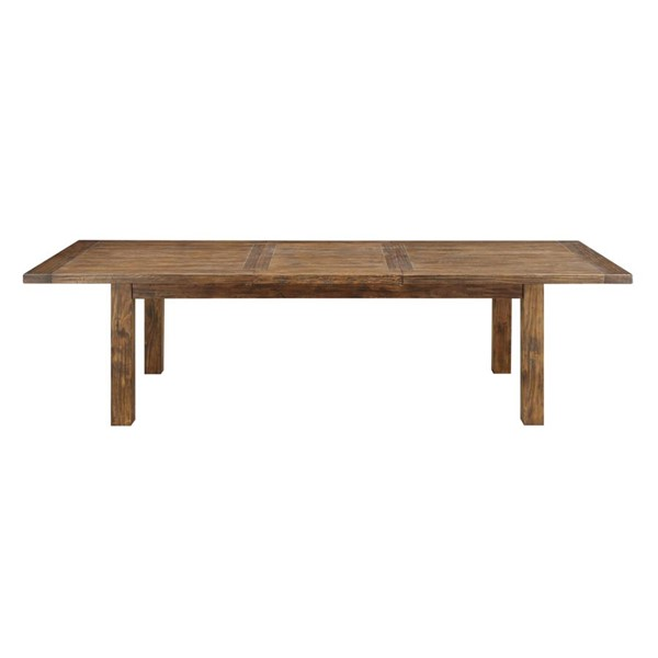 Emerald Home Chambers Creek Brown Rectangle Dining Table EMR-D412-10
