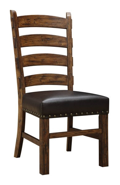 2 Emerald Home Chambers Creek Brown Dining Chairs EMR-D412-22-2PK-K