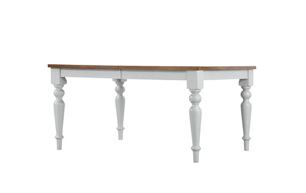Emerald Home Cliff Haven Gray Cherry Dining Table EMR-D494-10