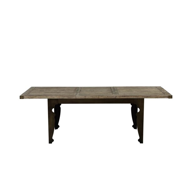 Emerald Home Valencia Pine Black Rectangle Dining Table EMR-D559-10