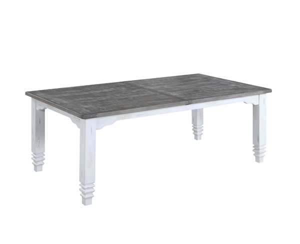 Emerald Home Centerville White Dining Table EMR-D719-10