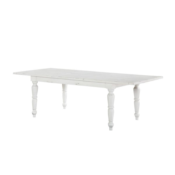 Emerald Home Abaco White MDF Dining Table EMR-D848-10