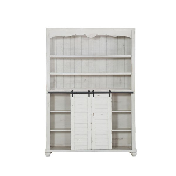 Emerald Home Abaco White MDF Buffet And Hutch EMR-D848-60-65-K