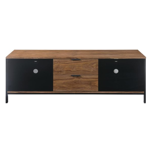 Emerald Home Modern Home Walnut Brown 2 Drawers TV Stand EMR-E5140WAL
