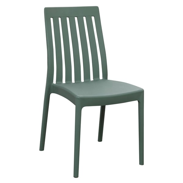 2 Emerald Home Odyssey Green Outdoor Dining Chairs EMR-OD1101-20GRN-2PK-K