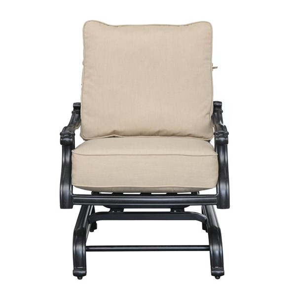 Emerald Home Versailles Beige Onyx Classic Outdoor Lounge Chair EMR-OU1045-04-1-05