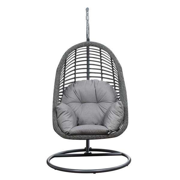 Emerald Home San Marino Gray Outdoor Hanging Chair EMR-OU1060-2-09-23-K