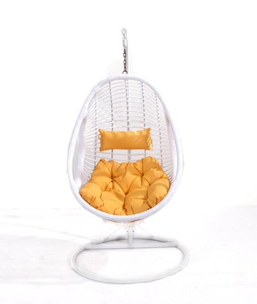Emerald Home Catalina Yellow Outdoor Hanging Chair EMR-OU1061-09-01-K