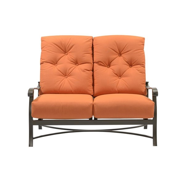 Emerald Home Chatham II Cappuccino Outdoor Loveseat EMR-OU1062-01-05