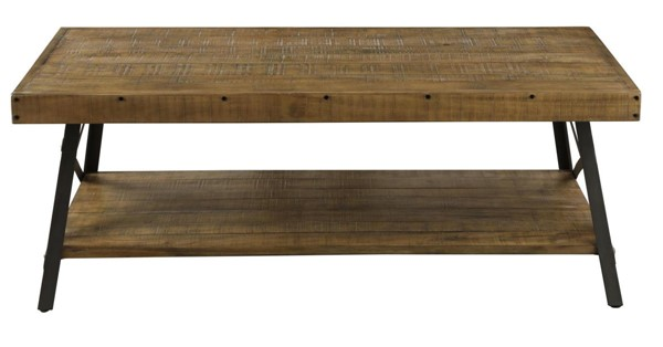 Emerald Home Chandler Brown Rectangle Coffee Table EMR-T100-0