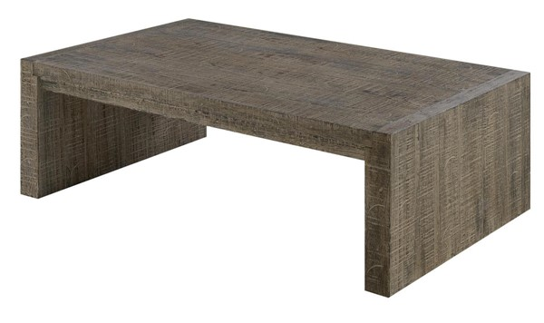 Emerald Home Cubix Tobacco Brown Rectangle Coffee Table EMR-T273-00