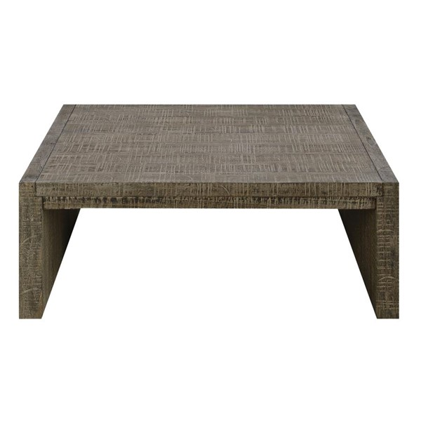 Emerald Home Cubix Tobacco Brown Square Coffee Table EMR-T273-05