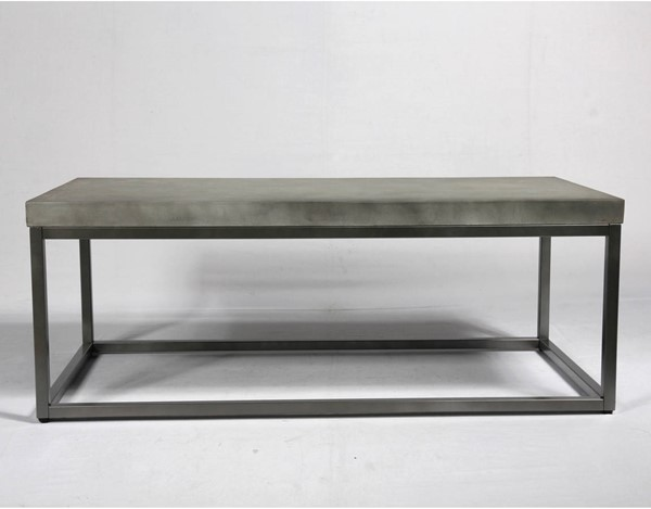Emerald Home Onyx Aged Concrete Coffee Table EMR-T375-00