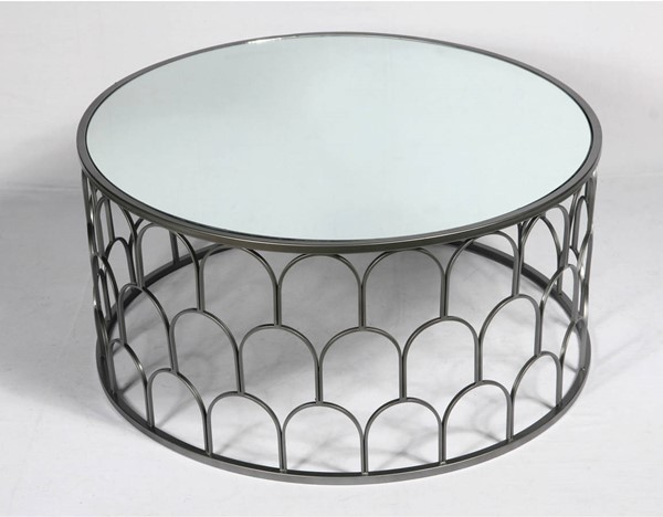 Emerald Home Loxton Metal Coffee Table EMR-T412-00