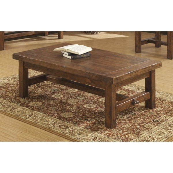 Emerald Home Chambers Creek Brown Lift Top Coffee Table EMR-T4124