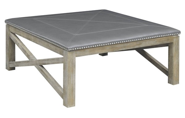 Emerald Home Laney Gray Square Coffee Table EMR-T4389-00-03