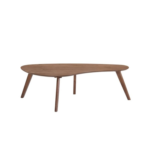 Emerald Home Simplicity Walnut Brown Coffee Table EMR-T550-0