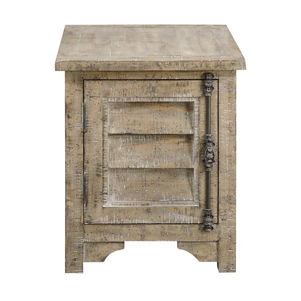 Emerald Home Interlude Gray Rectangle End Table EMR-T560-03