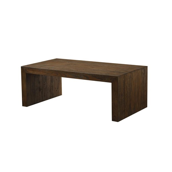 Emerald Home Pine Valley Burnished Pine Rectangle Coffee Table EMR-T744-00