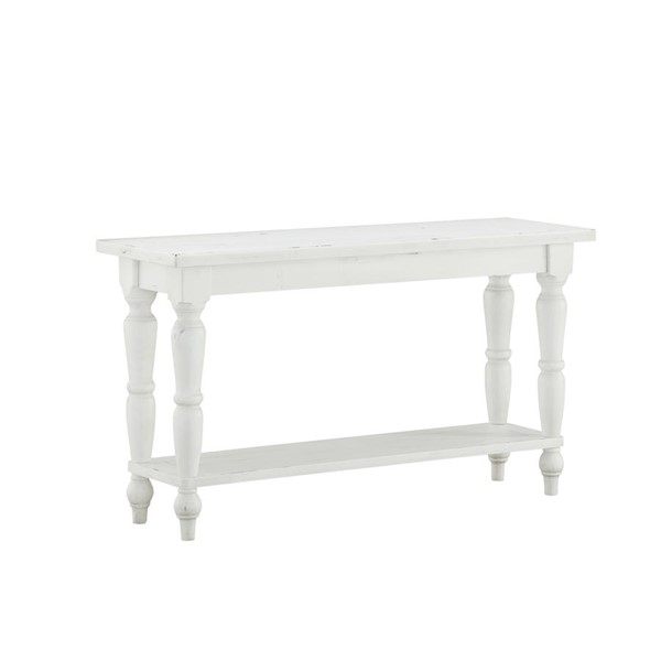 Emerald Home Abaco White Rectangle Sofa Table EMR-T848-02