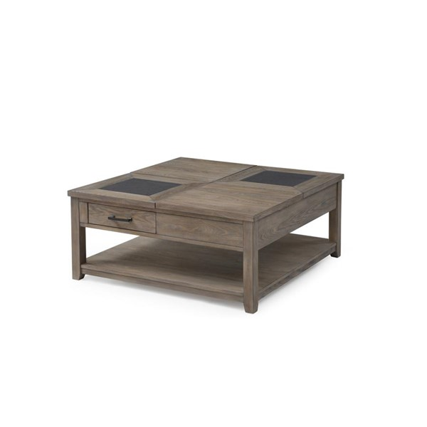 Emerald Home Nevada Honey Amber Wood Lift Top Coffee Table EMR-T925-05