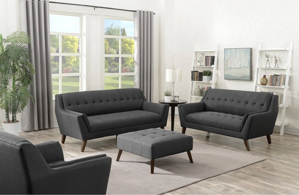 Emerald Home Binetti Charcoal 4pc Living Room Sets EMR-U3216M-LR-VAR