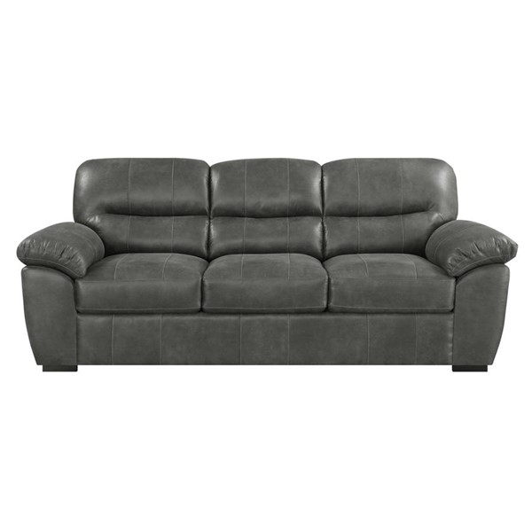 Emerald Home Nelson Charcoal Gray Fabric Sofa EMR-U3472-00-03