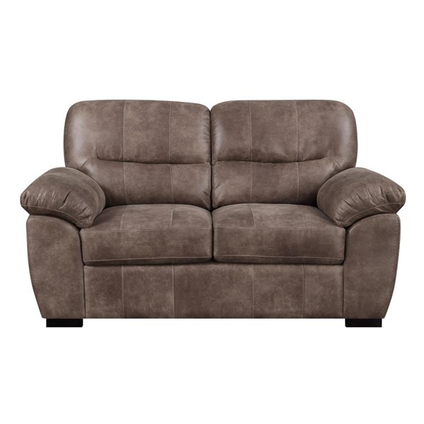 Emerald Home Nelson Almond Brown Fabric Loveseat EMR-U3472-01-05