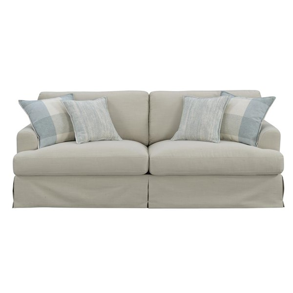 Emerald Home Charlotte Natural Bay Blue Fabric Sofa EMR-U3480-00-09