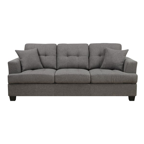 Emerald Home Clearview Gray Fabric Sofa EMR-U3610A-00-13
