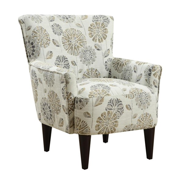 Emerald Home Flower Power Cascade Mineral Fabric Accent Chair EMR-U3655-05-25