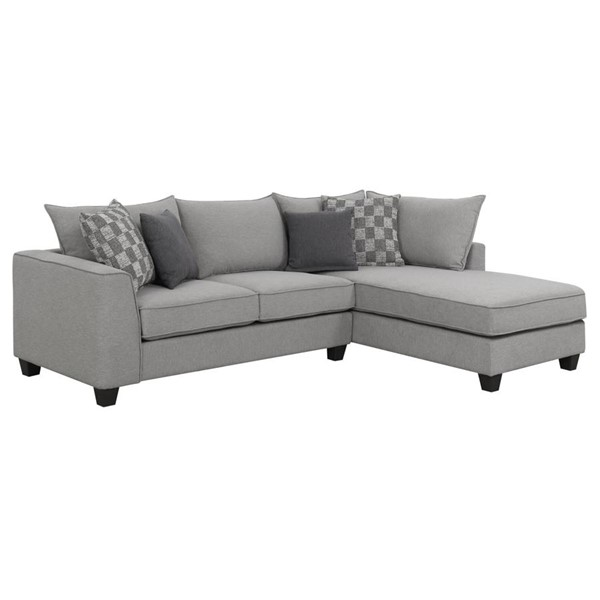 Emerald Home Adler Pewter Charcoal Sectional EMR-U4132-11-12-03-K