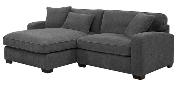 Emerald Home Repose Gray Sofa Sectional EMR-U4173M-29-30-03-K