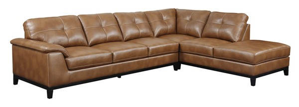 Emerald Home Marquis Brown Sectional EMR-U4289M-11-12-05-K