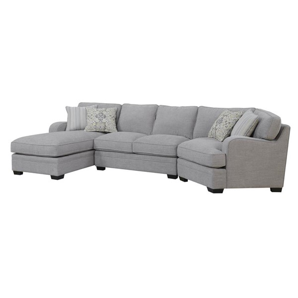 Emerald Home Analiese Linen Gray Fabric LAF Sectional EMR-U4315-11-12-16-03-K