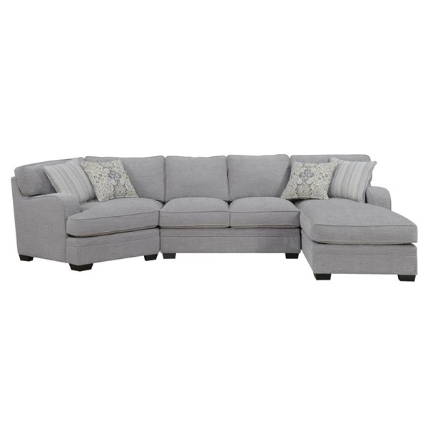 Emerald Home Analiese Gray Fabric RAF Sectional EMR-U4315-29-16-30-03-K
