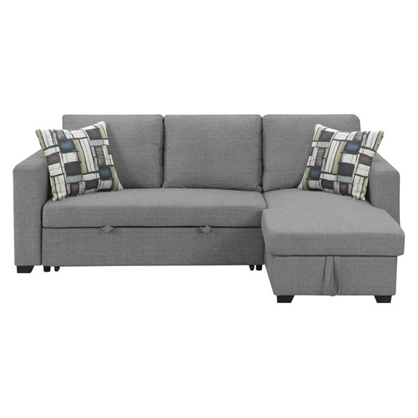 Emerald Home Langley Gray Reversible Sectional EMR-U4339-11-12-19-K