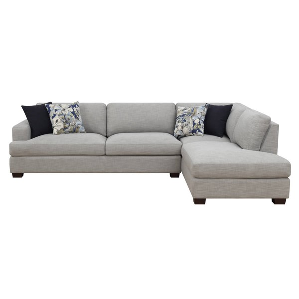 Emerald Home Vernon Gray Fabric Sofa Sectional EMR-U4369-11-12-03-K