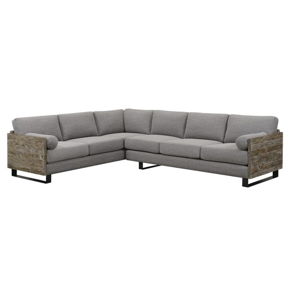 Emerald Home Interlude Charcoal Gray Fabric Sectional EMR-U5600-11-12-13-K