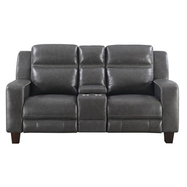 Emerald Home Beckett Graphite Power Reclining Loveseat EMR-U7143-44-03