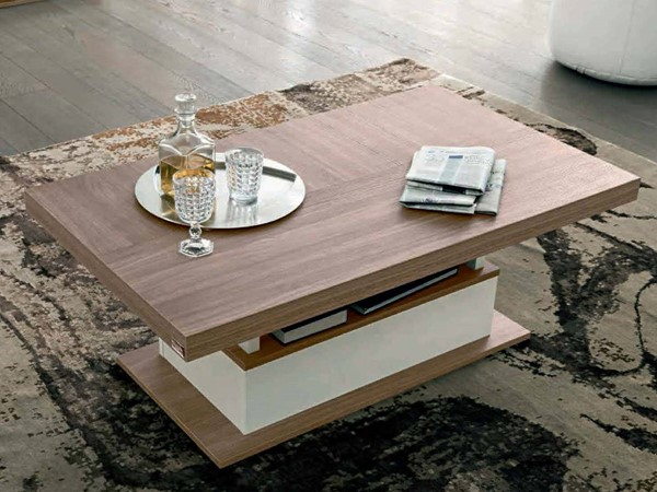 ESF Status Italy Ivory Brown Coffee Table ESF-i17490
