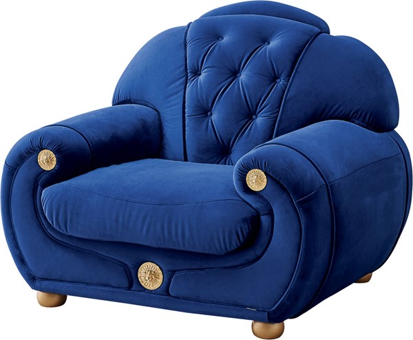 ESF Extravaganza Giza Dark Blue Chair ESF-i17463