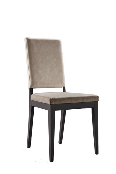 2 ESF Status Italy Kali Grey Sand Chairs ESF-i22991