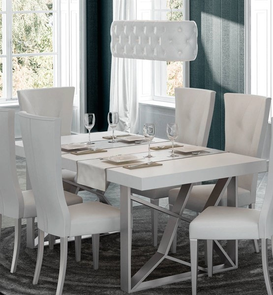 ESF Franco Spain Kiu White Dining Table ESF-i22247