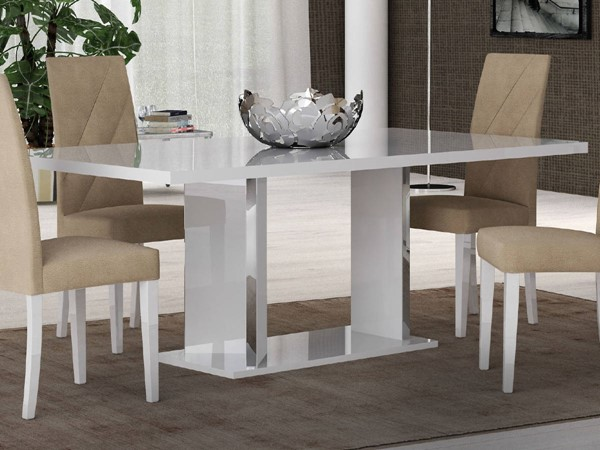 ESF Status Italy Lisa White Dining Table ESF-i17837