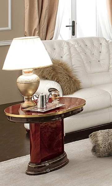ESF Camelgroup Italy Luxor Mahogany End Table ESF-i20570
