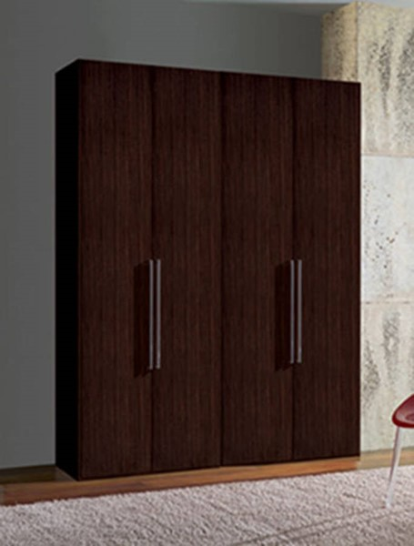 ESF Mcs Italy Luxury Coffee 4 Door Wardrobe ESF-i874