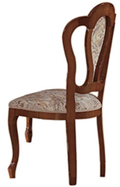2 ESF Camelgroup Italy Milady Walnut Side Chairs ESF-i726
