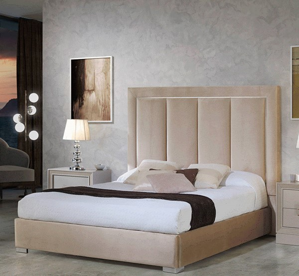 ESF Dupen Spain Monica Beige Beds with Storage ESF-i2205-QSBED