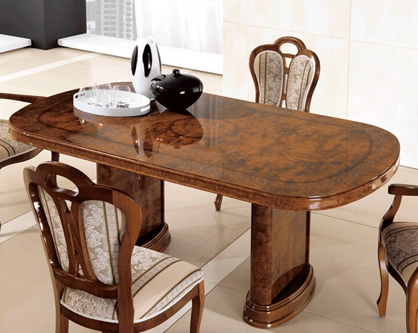 ESF MCS Italy Pamela Walnut 18 Inch Extension Dining Table ESF-i22392